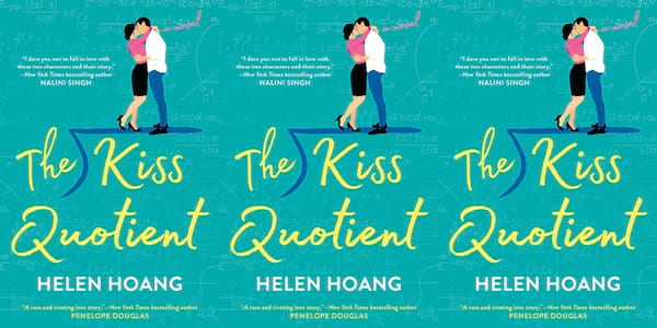 books like crazy rich asians, the kiss quotient by helen hoang, books