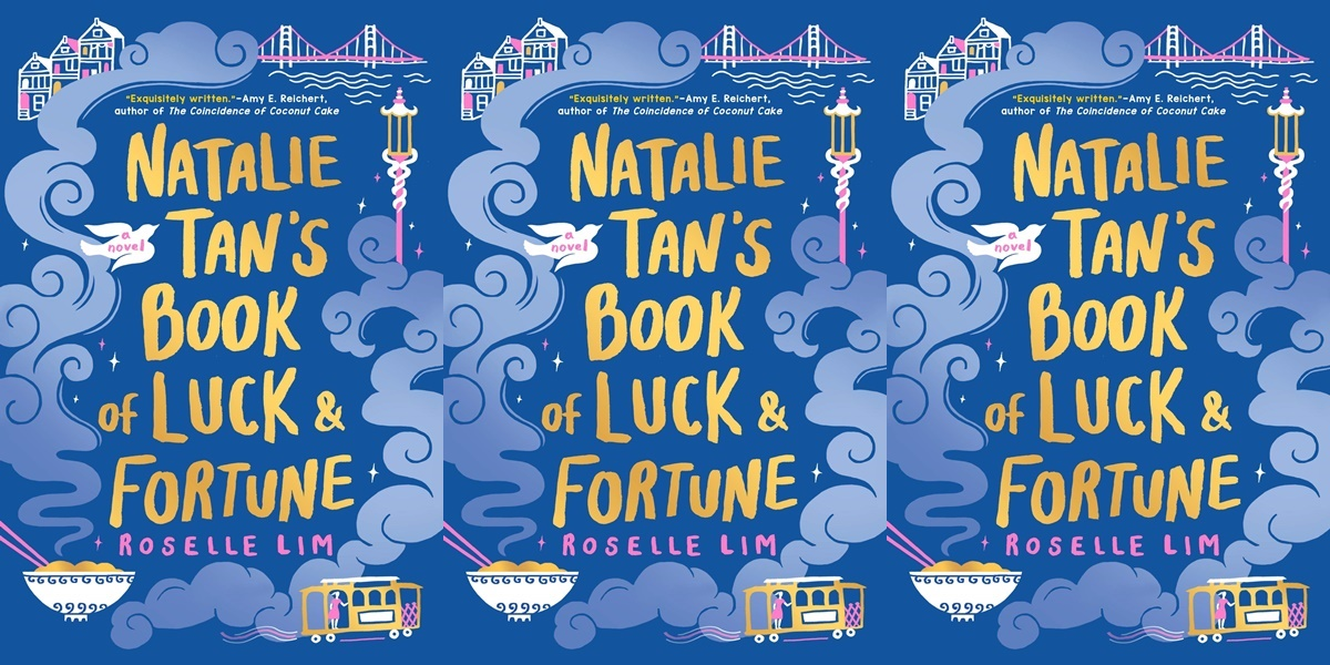books like crazy rich asians, natalie tan's book of luck and fortune by roselle lin, books