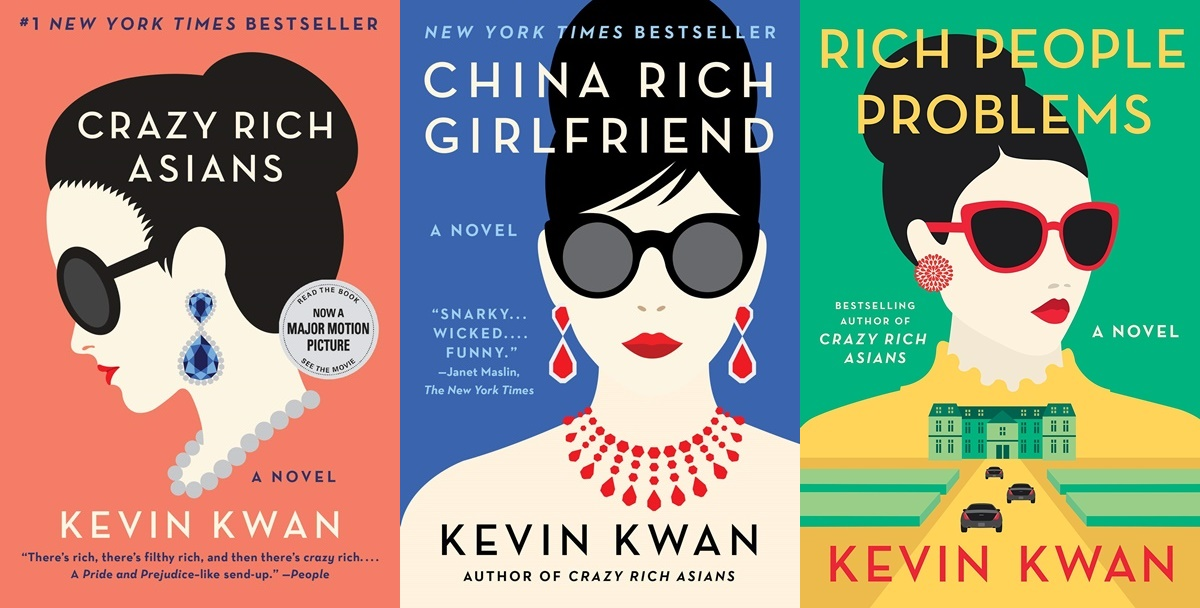 books like crazy rich asians, the crazy rich asians series by kevin kwan, books