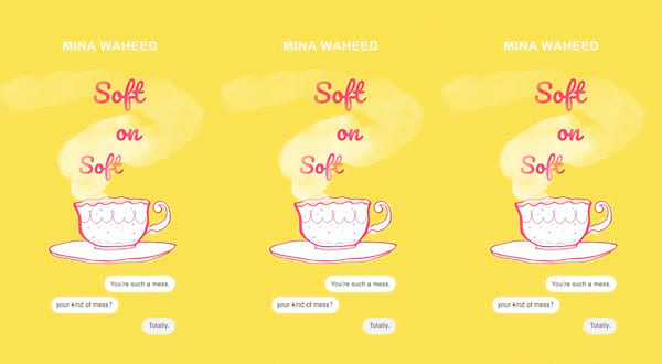 romances to read for pride, soft on soft by mina waheed