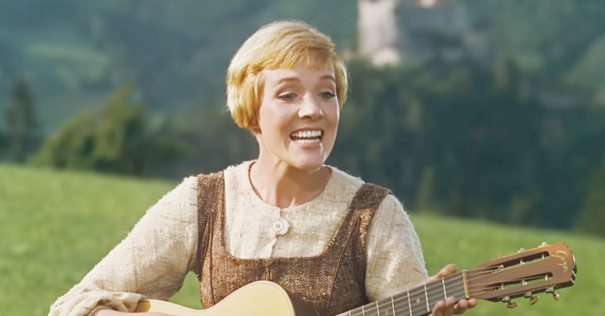 The Sound of Music, Julie Andrews, Sound of Music