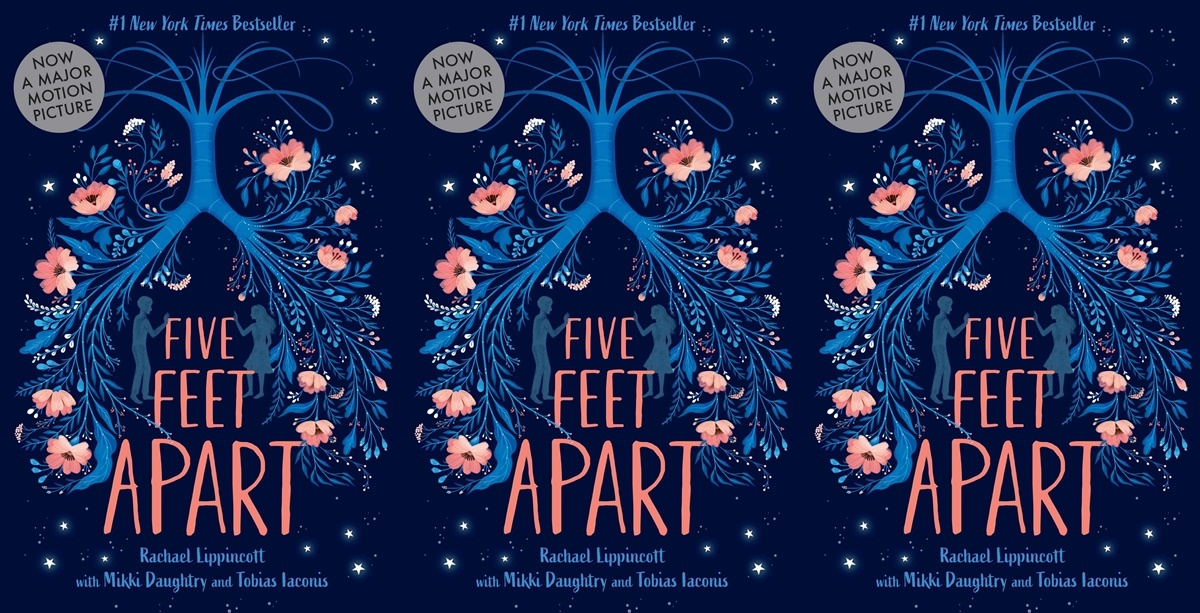books like the fault in our stars, five feet apart by rachael lippincott, books