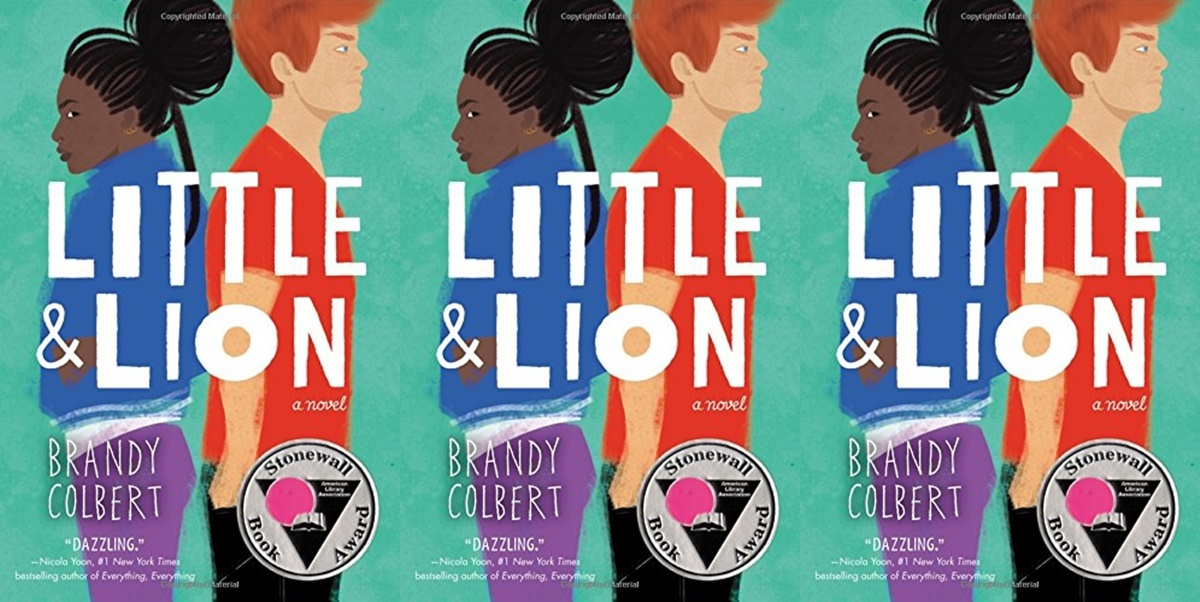 books like the fault in our stars, little & lion by brandy colbert, books