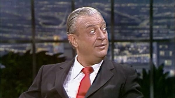tv, The Johnny Carson Show, 1982, Rodney Dangerfield, comedian