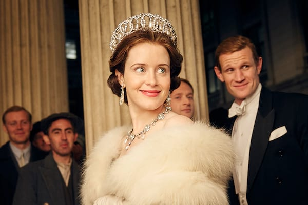 queen elizabeth II in the crown tv series smiling royal quotes