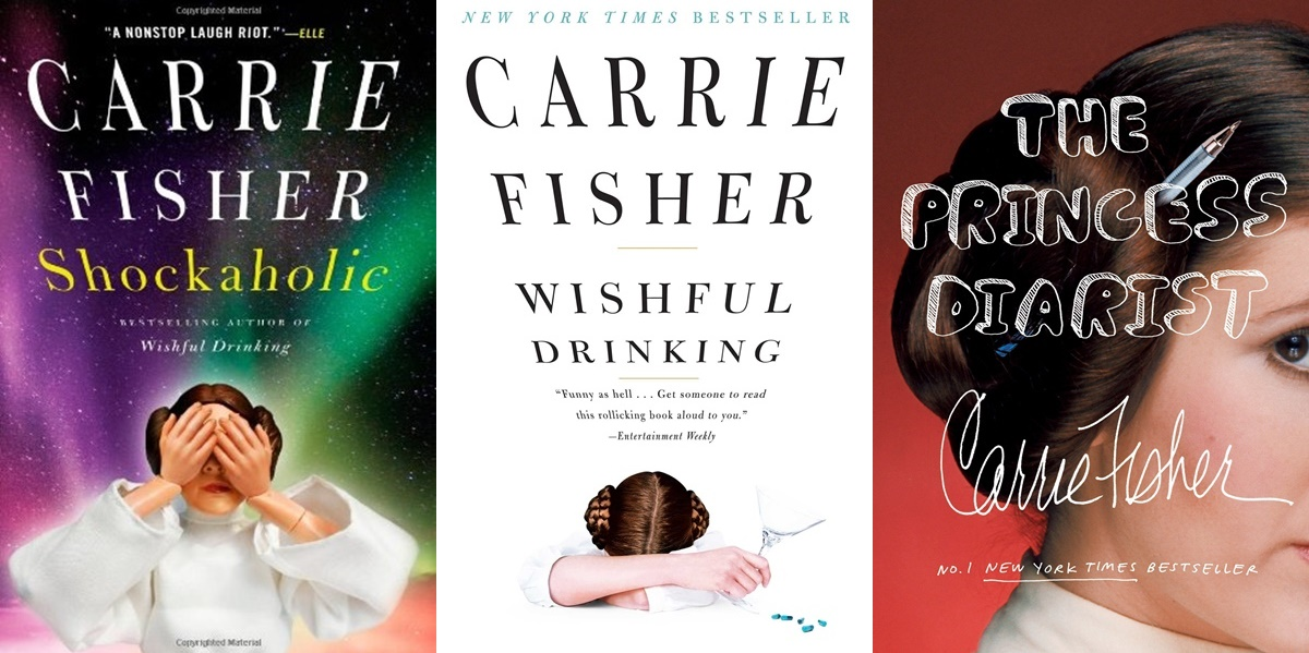 books about bipolar disorder, three memoirs by carrie fisher, books, health