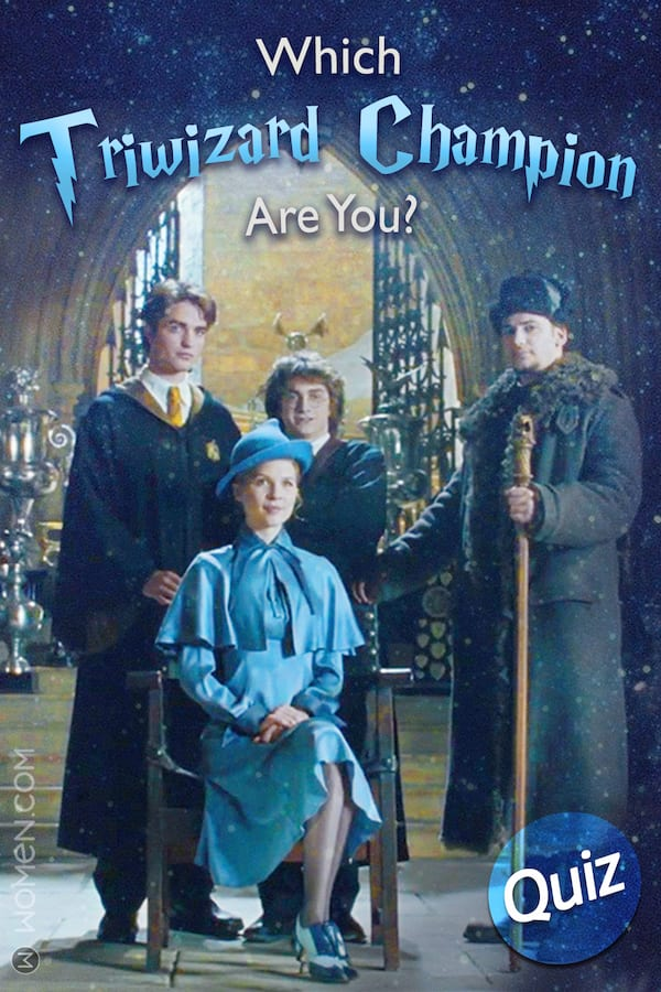 Harry Potter Quiz: Which Triwizard Champion Are You? - Women com