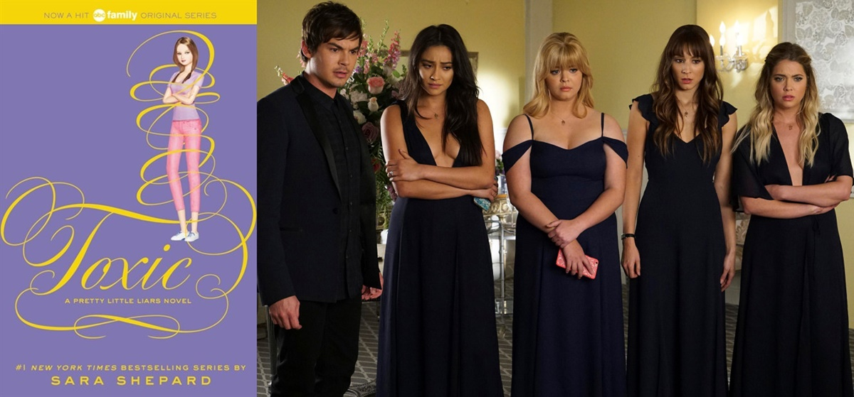 books adapted into tv shows, Pretty Little Liars, tv, books