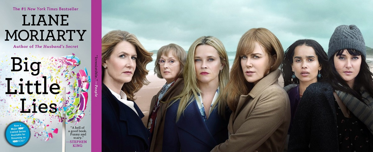 books adapted into tv shows, big little lies, tv, books