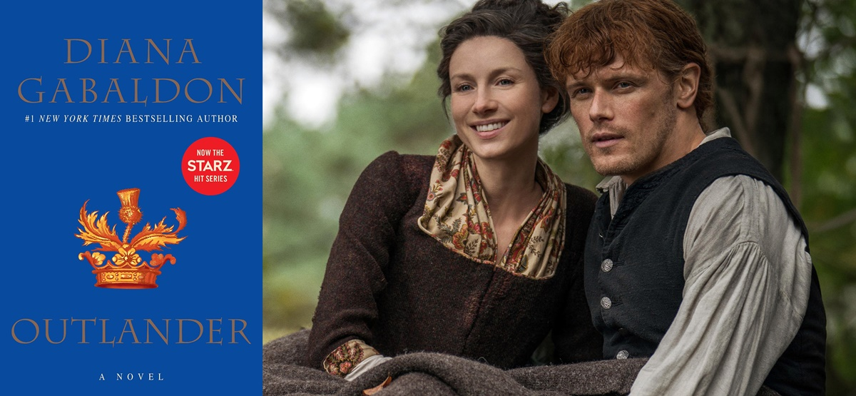 books adapted into tv shows, Outlander, tv, books