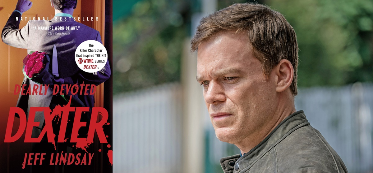books adapted into tv shows, Dexter, tv, books