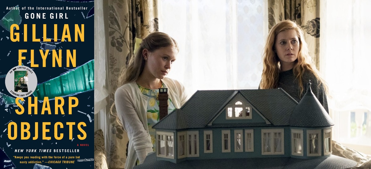 books adapted into tv shows, sharp objects, tv, books