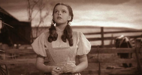 movies, the wizard of oz, 1939, judy garland as dorothy