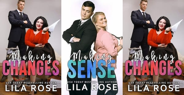 plus size romance series, making series by lila rose, books