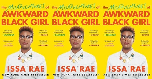 funny book club books, the misadventures of awkward black girl by issa rae, books