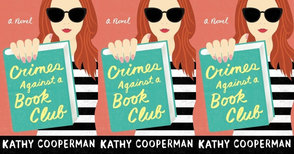 funny book club books, crimes against a book club by kathy cooperman, books