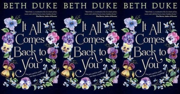 funny book club books, it all comes back to you by beth duke, books