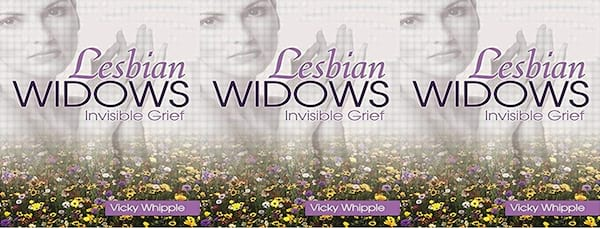books about widows, lesbian widows by victoria whipple, books, family