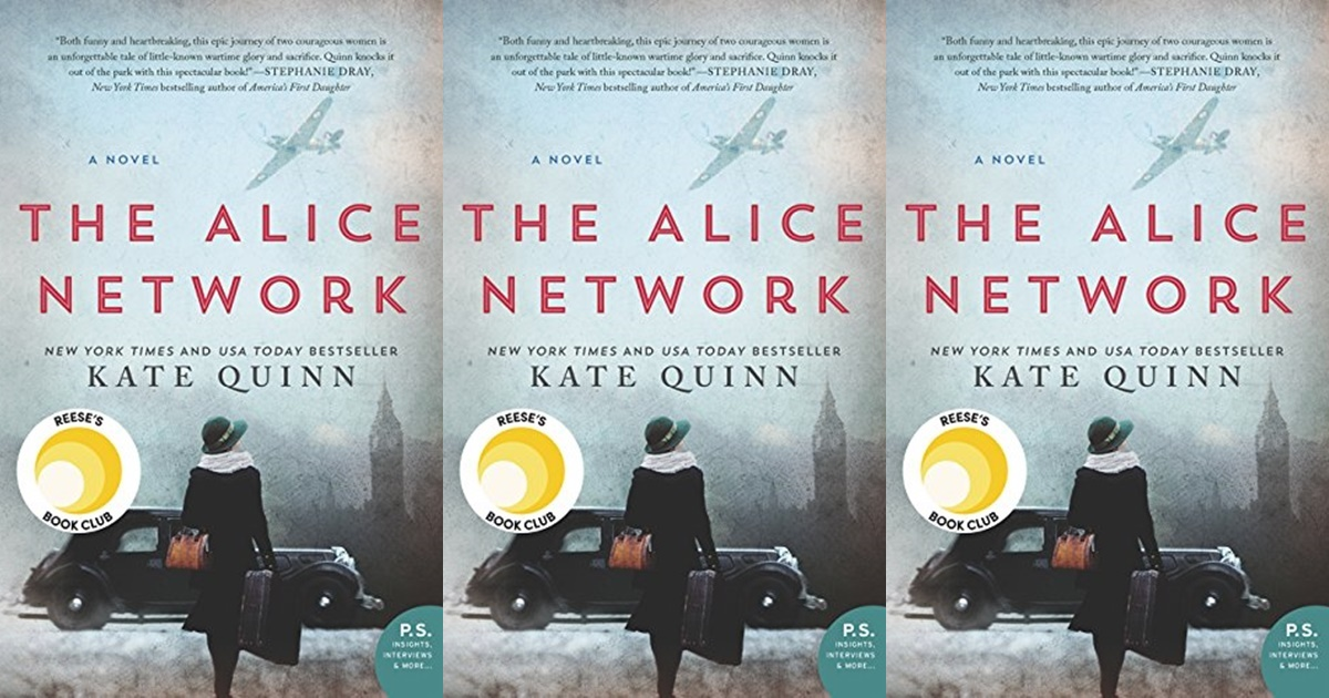 books like the nightingale, the alice network by kate quinn, books