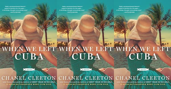 books like the nightingale, when we left cuba by chanel cleeton, books