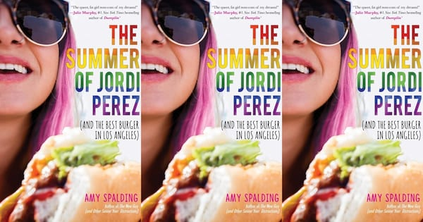 heartwarming lgbt books, the summer of jordi perez by amy spalding, books