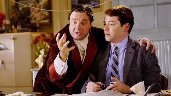matthew broderick, movies, the producers, 2005, musical, Nathan Lane