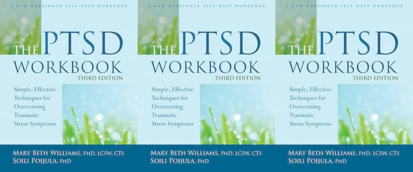 books about ptsd, the ptsd workbook by mary beth williams and soili poijula, health, books