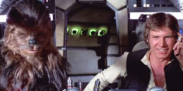 Han Solo & Chewbacca, star wars, pop culture duo, movies, tv