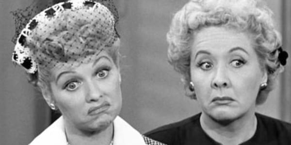 pop culture duo, movies, tv, Lucy & Ethel