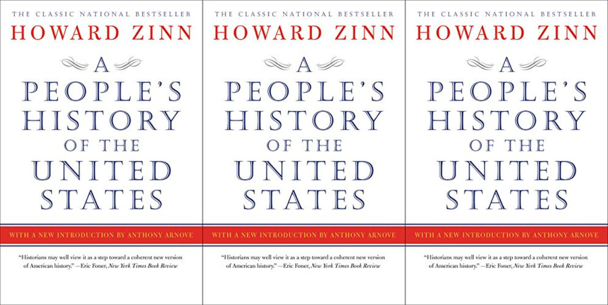 patriotic books, a people's history of the united states by howard zinn, books