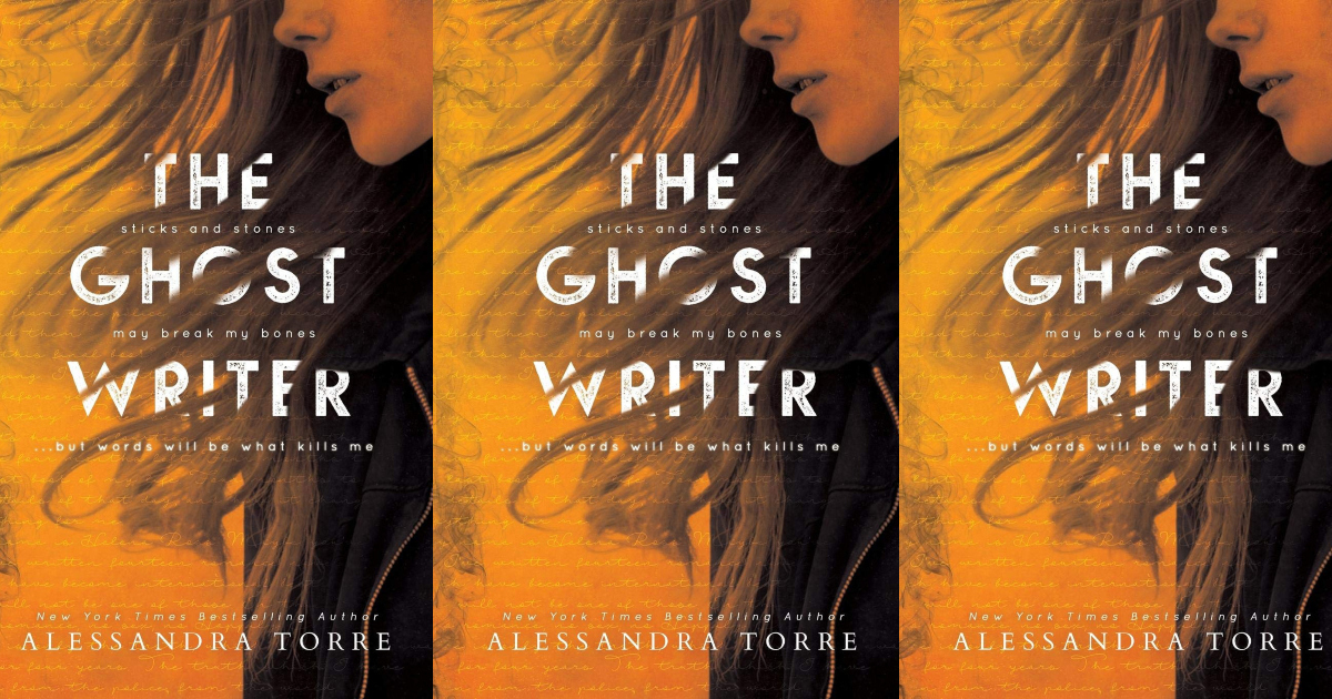 books like verity, the ghostwriter by alessandra torre, books