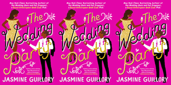 july romance novels, the wedding party by jasmine guillory, books