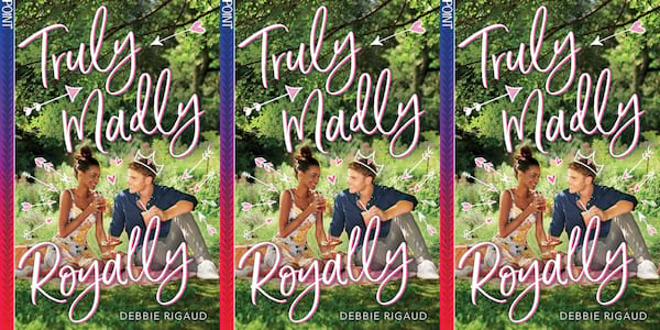 july romance novels, truly madly royally by debbie rigaud, books