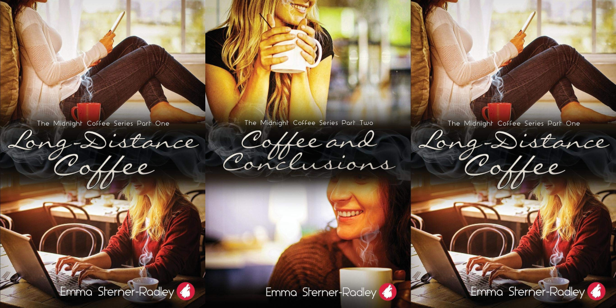 long distance romance novels, the midnight coffee series by emma sterner-radley, books