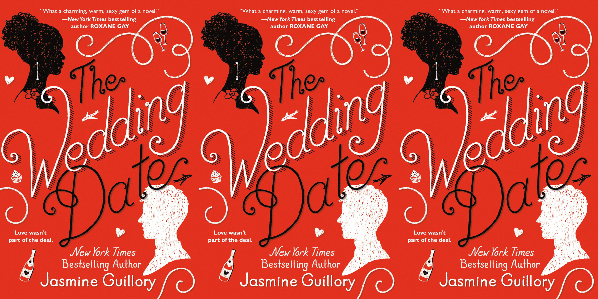 long distance romance novels, the wedding date by jasmine guillory, books