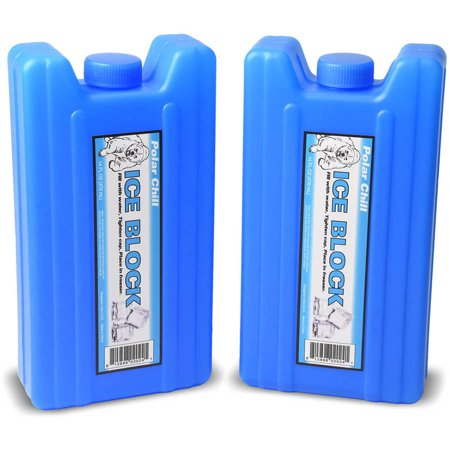Ice pack flasks from Walmart