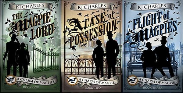 books about magic, a charm of magpies series by kj charles, books