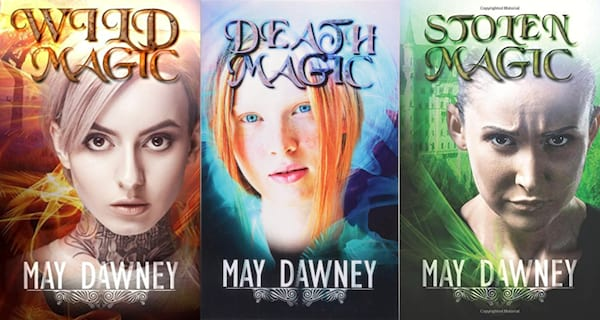 books about magic, the veil chronicles by may dawney, books