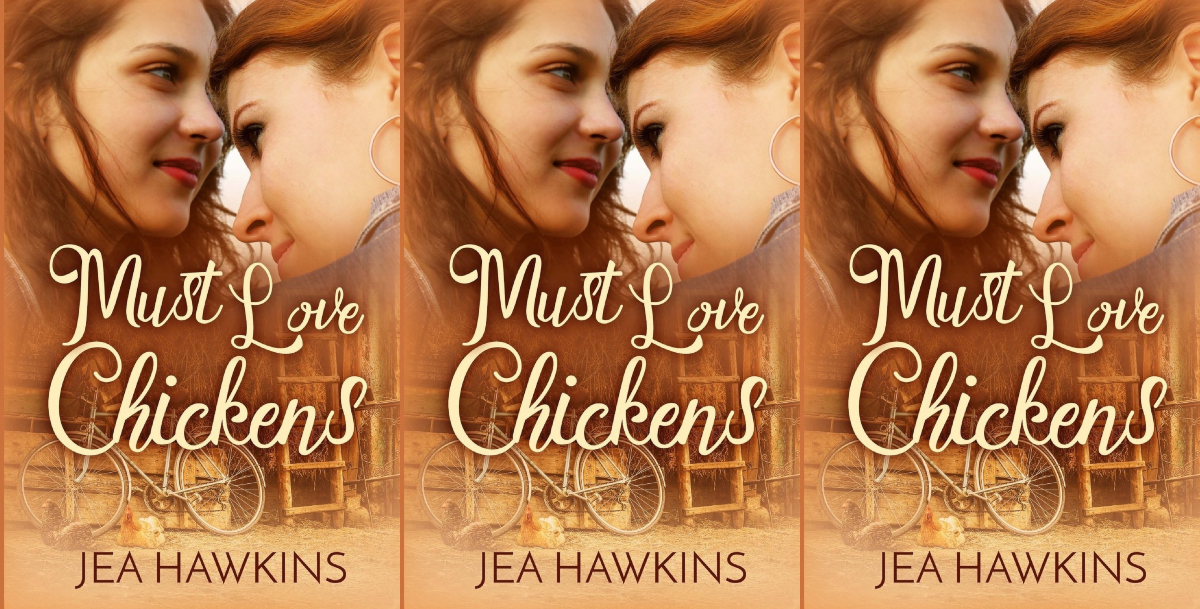romance novels about animal lovers, must love chickens by jea hawkins, books