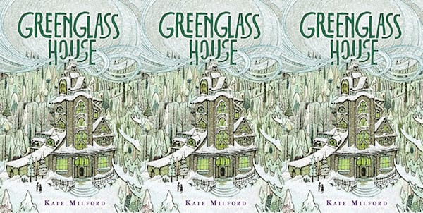 children's mystery books, greenhouse glass by kate milford, books