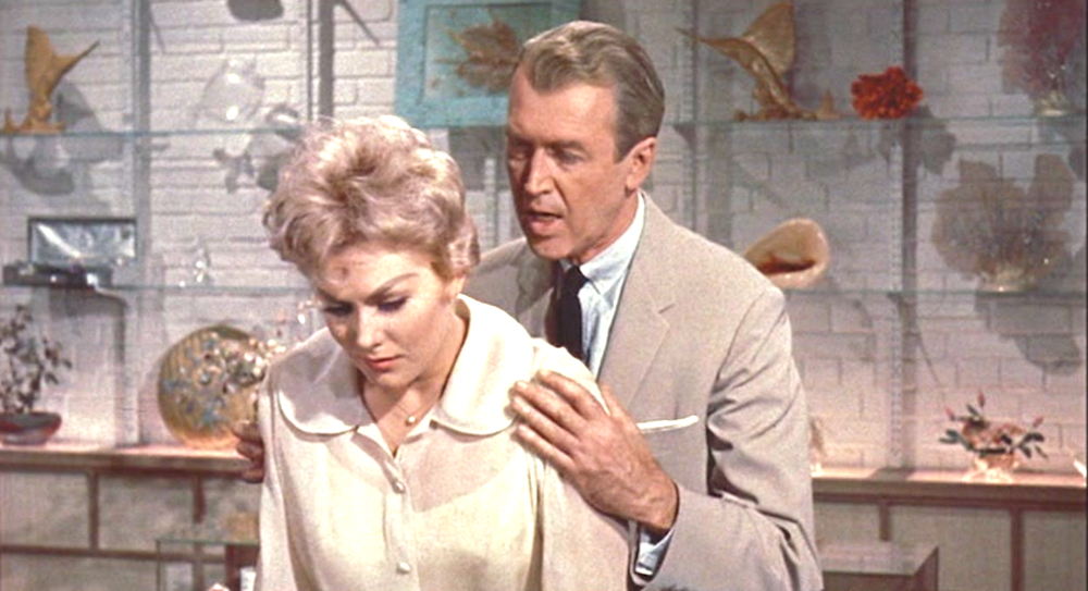 movies, bell book and candle, 1958, James Stewart, kim novak