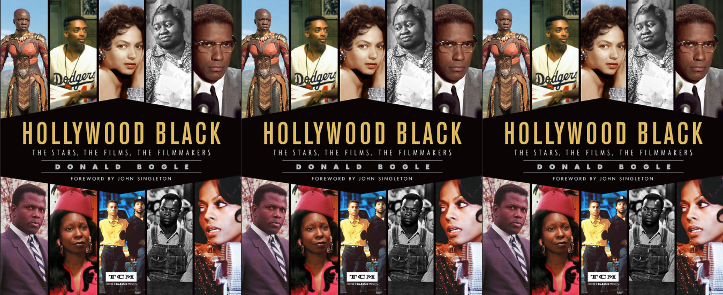 cheap coffee table books, hollywood black: the stars, the filmmakers by donald bogle, books