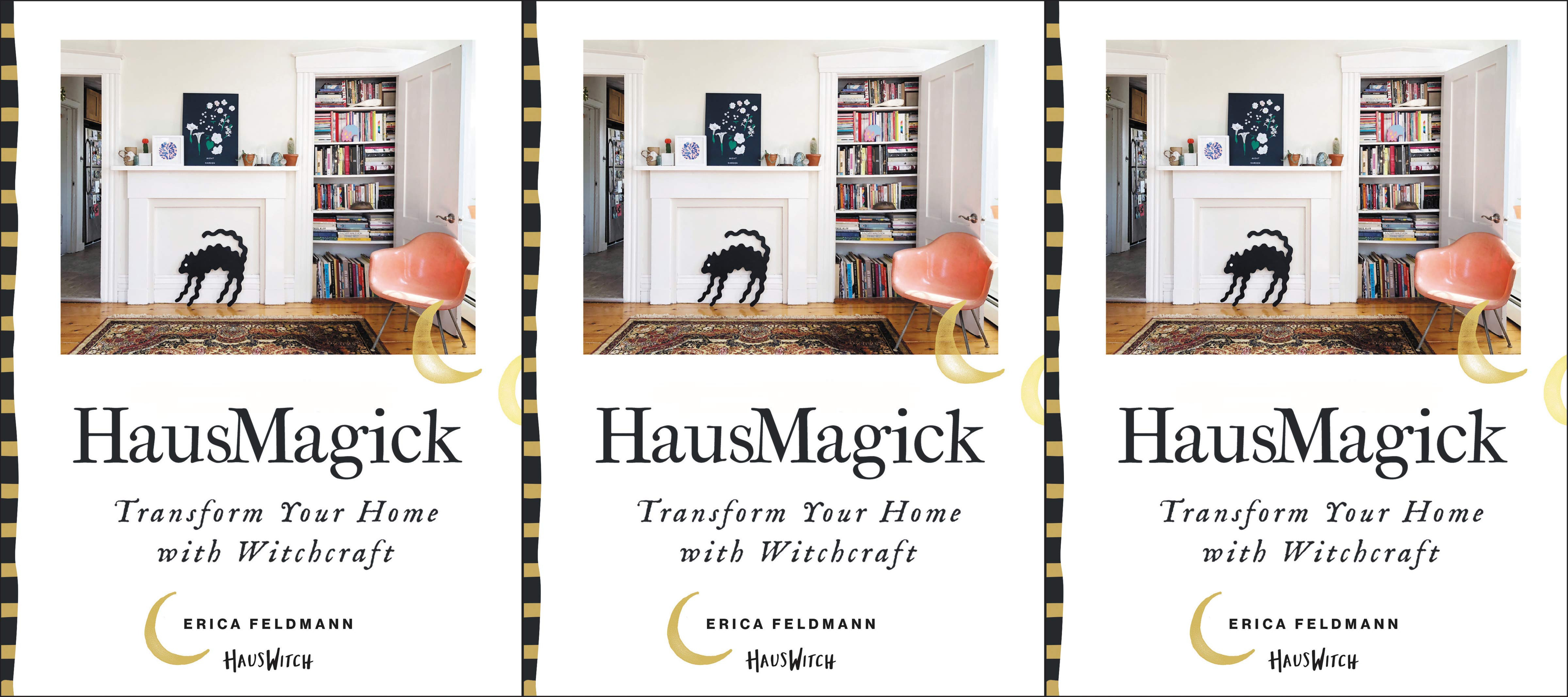 cheap coffee table books, hausmagick: transform your home with witchcraft by erica feldman, books
