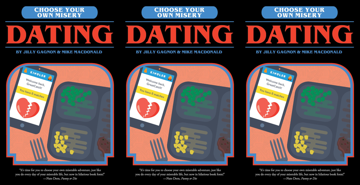 choose your own adventure books for adults, choose your own misery: dating by mike macdonald and jilly gagnon, books