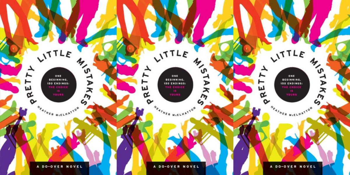 choose your adventure for adults, pretty little mistakes by heather meelhatton, books