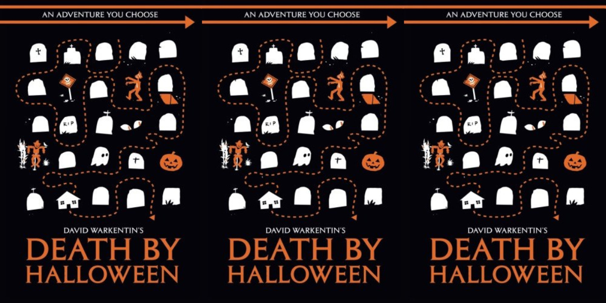 choose your own adventure for adults, death by halloween by davide warkentin, books