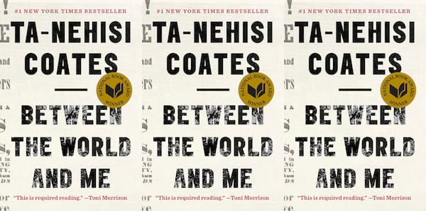 books you can read in a weekend, between the world and me by ta-nehisi coates, books