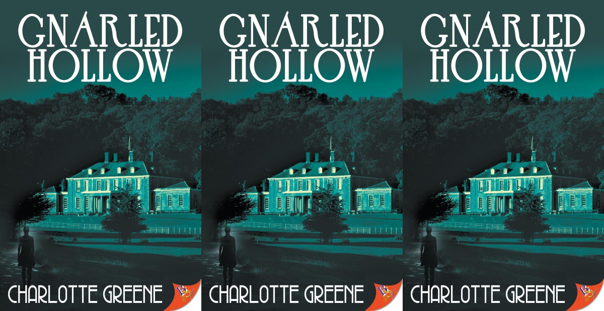 books about haunted houses, gnarled hollow by charlotte greene, books