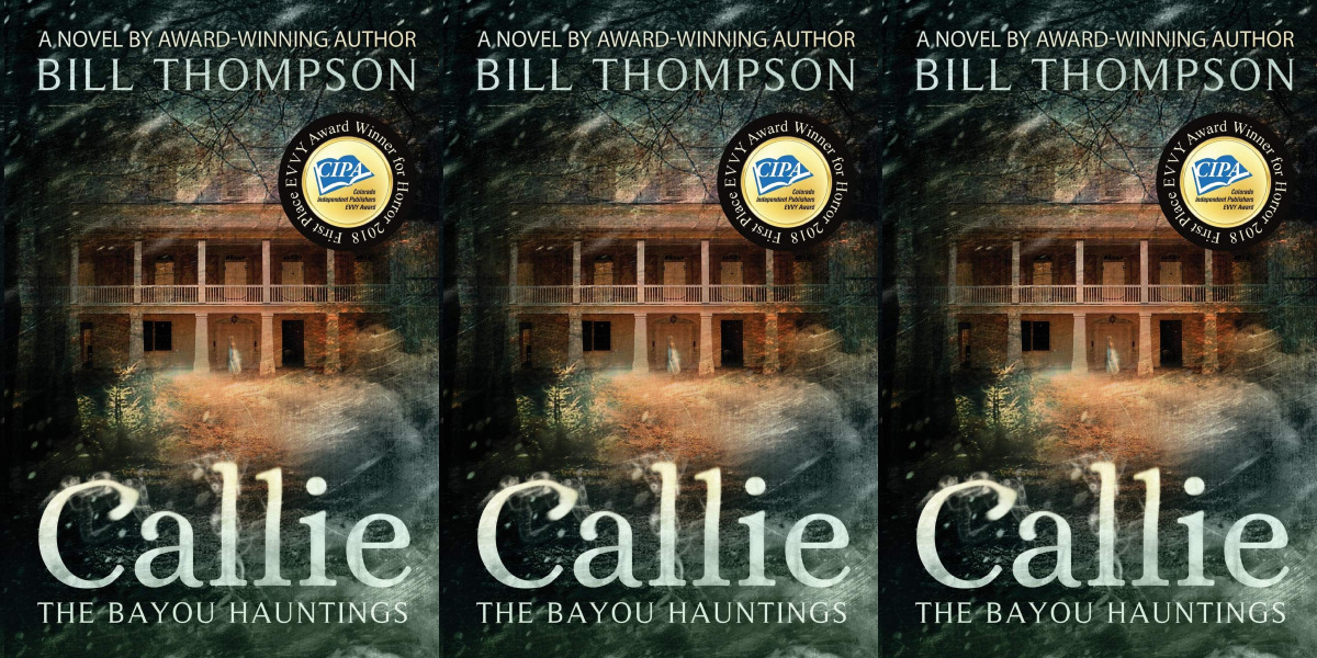 books about haunted houses, callie by bill thompson, books