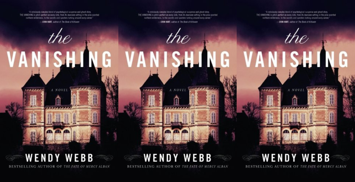 books about haunted houses, the vanishing by wendy webb, books